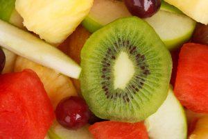 Vers fruit op de afdeling periodiek